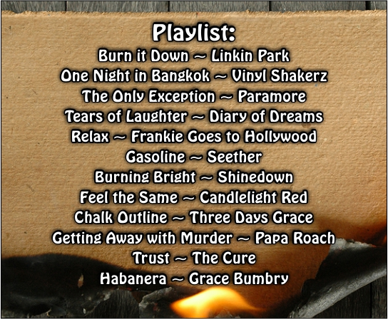 Burning Down the House - Playlist